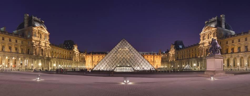 法國羅浮宮。圖/取自Wikipedia 。