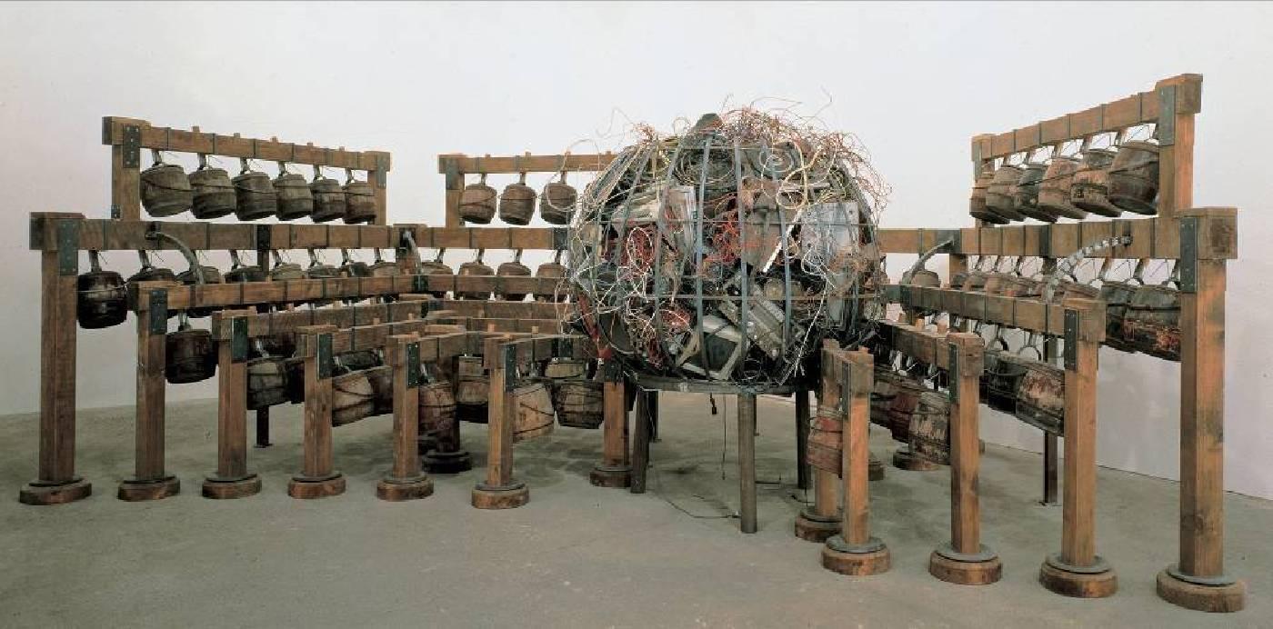《日咒》,1996年,圖片由德薩畫廊及常青畫廊提供。