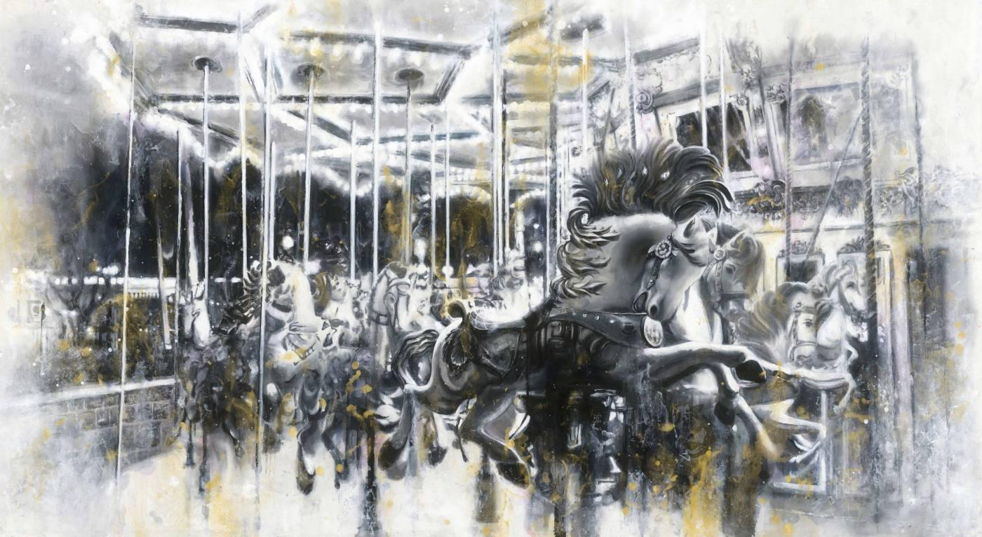 林葆靈,《旋轉木馬》,2015