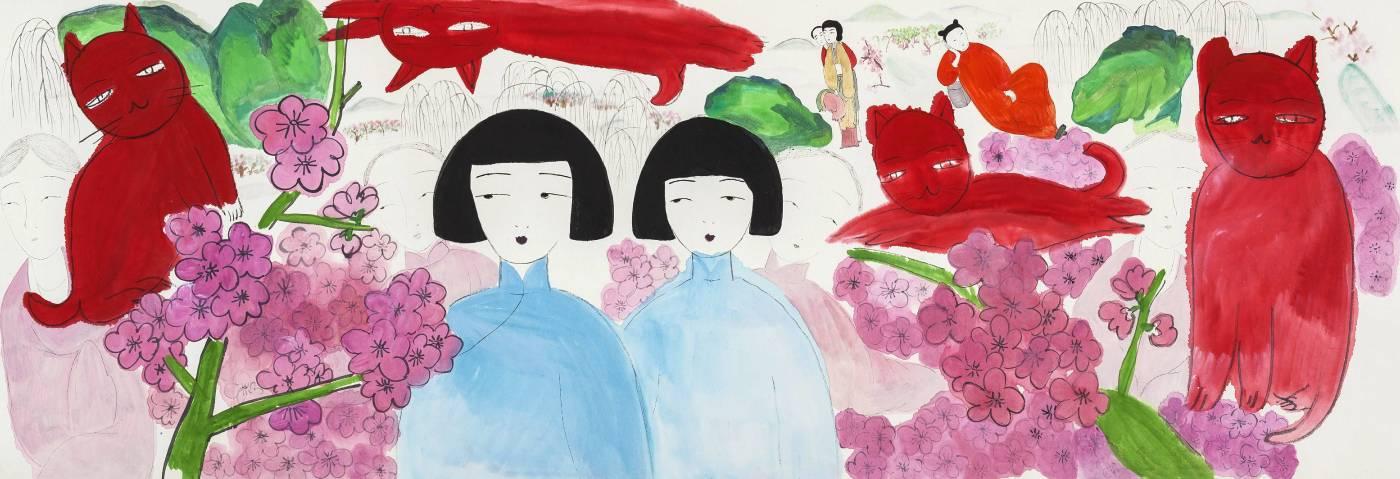 王濛莎,《春之游戲》,2015