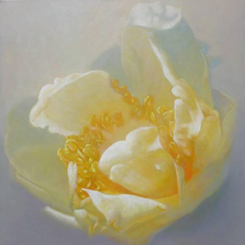 楊翠華  金玉滿堂  2015  油畫  60x60cm