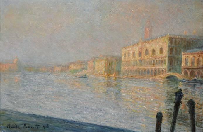 莫內《總督宮》。