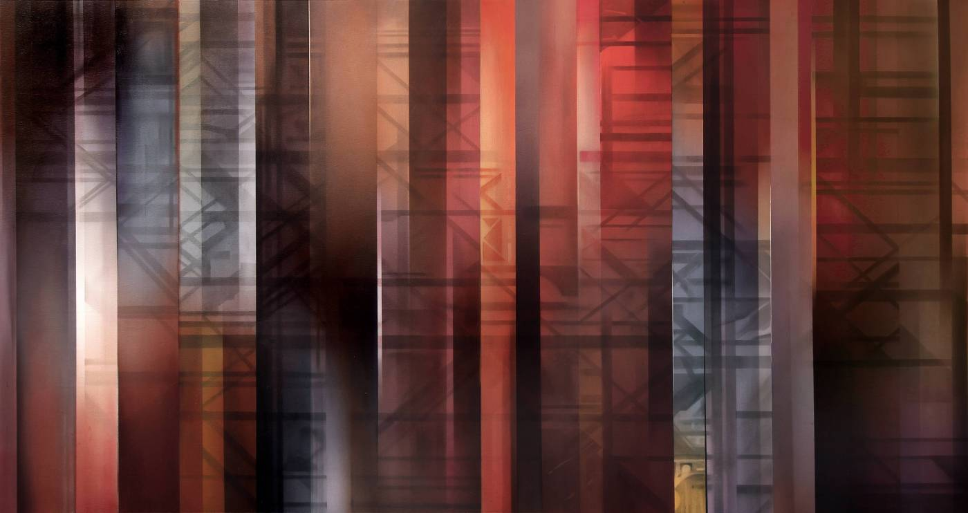 王建文,《Composition en Espace》,2015。