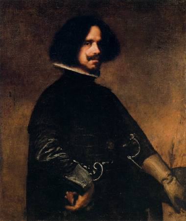 Diego Velázquez,《Self-Portrait》,1645。圖/取自wikiart