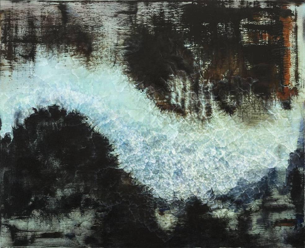張驊-星球上的河流 II-油畫-53x65cm-2013