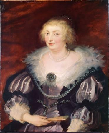 巴洛克畫家魯本斯《貴婦人畫像》。圖/取自Wikimedia。