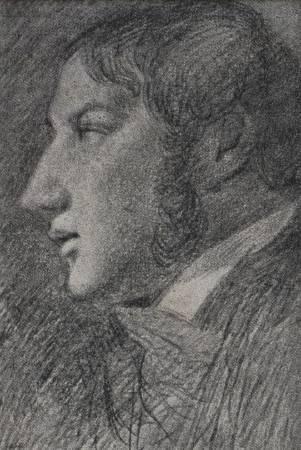 康斯特勃《自畫像》。圖/取自Wiki Art。