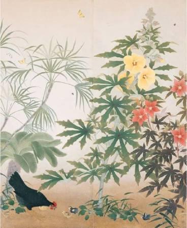 呂鐵州,《後庭》,1931