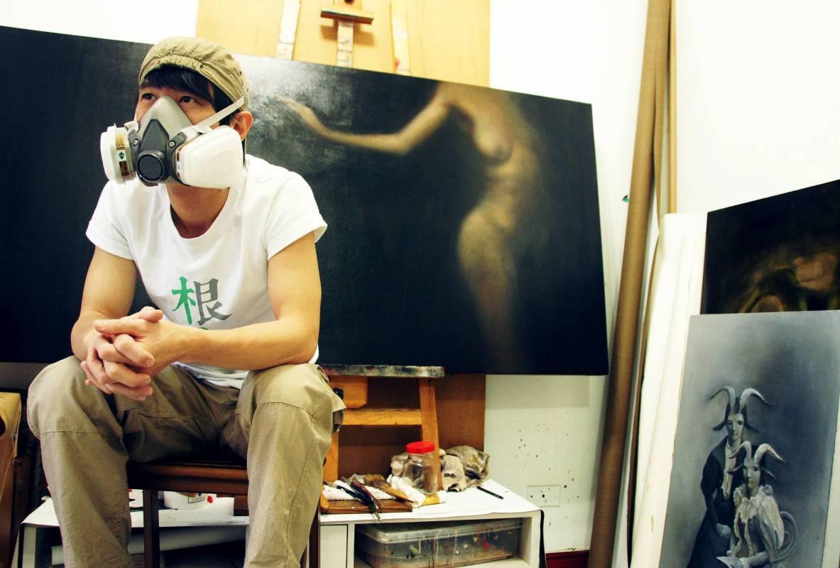 藝術家黃贊倫