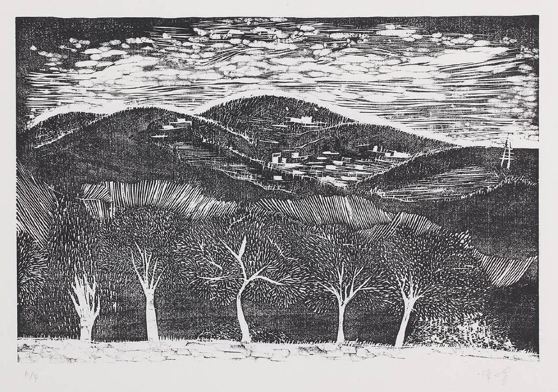 陳又寧,《對面的那座山》,2013。