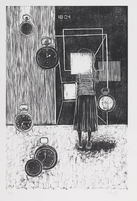 陳又寧,《Times out》,2013。