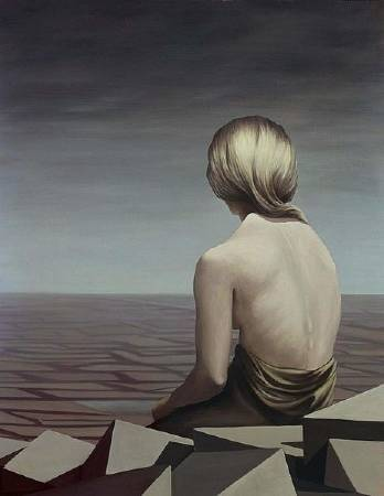 Kay Sage,《Le Passage》,1956。圖/取自wikiart。