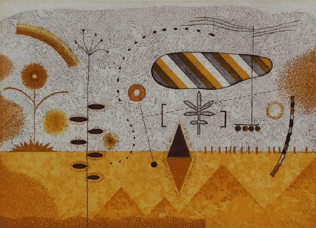 潘仁松-植物樂園2-17.8x24.8cm-1999