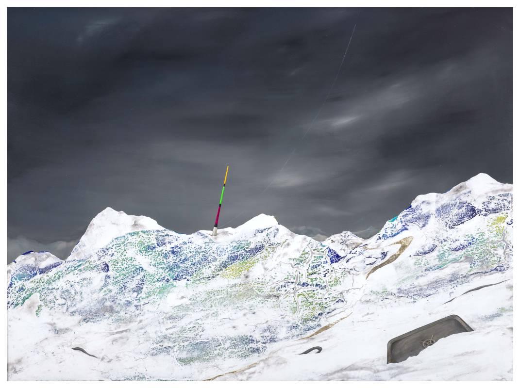 周代焌,《寂靜之外017-等待著改變的可能》,2015。