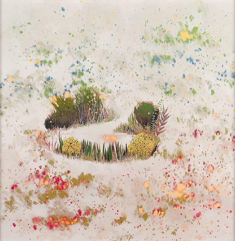 游雅蘭,《霧》,2013。