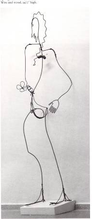 Alexander Calder, 《spring》,1928。圖/取自Wikiart。