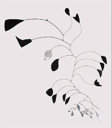 Alexander Calder, 《arc of petals》,1941。圖/取自Wikiart。
