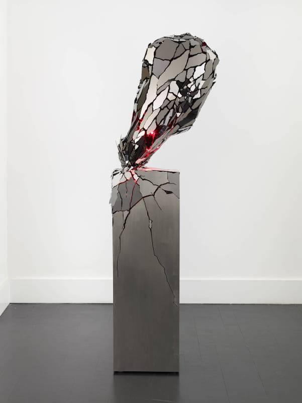 李暉,《破碎的心》,2015。
