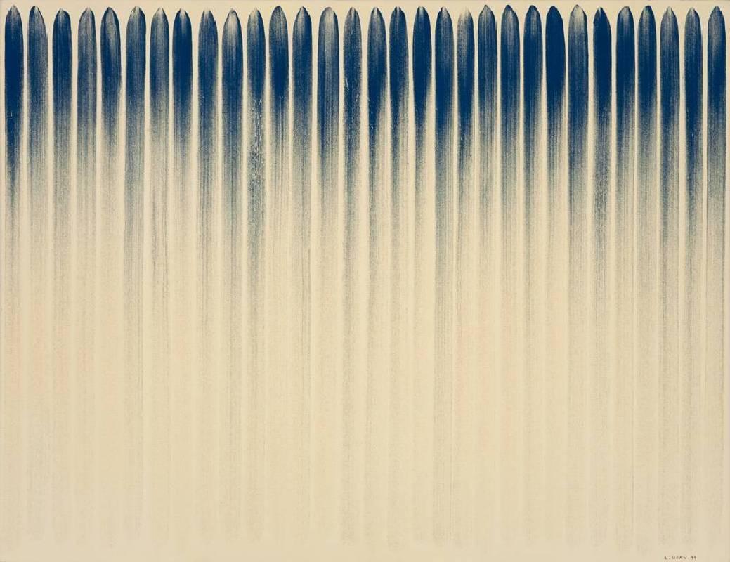 李禹煥 Lee Ufan 從線開始 From Line 112x145.5cm 1979 油畫 Oil on Canvas