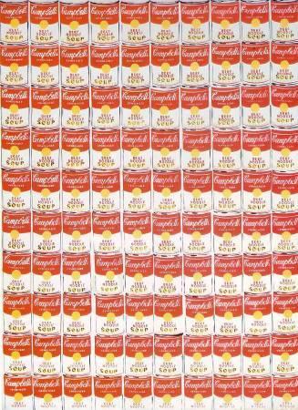 Andy Warhol,《100 Cans》,1962 ©Andy Warhol。圖/取自wikiart。