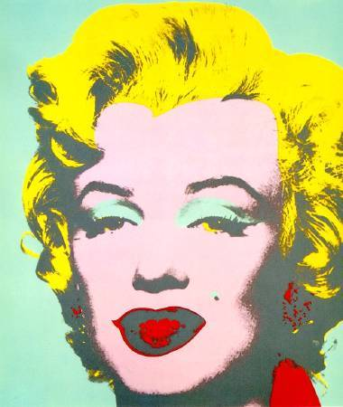 Andy Warhol,《Marilyn》,1967 ©Andy Warhol。圖/取自wikiart。