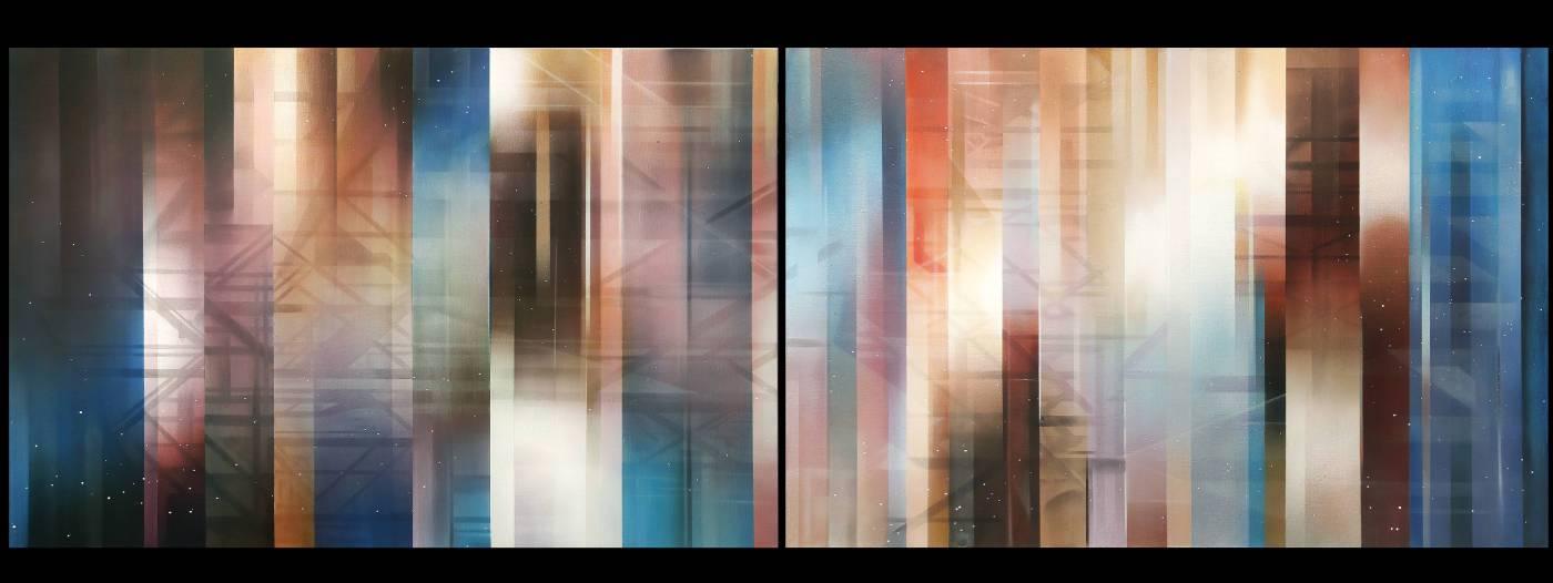 王建文,《Composition en Space tempsλ》,2015。