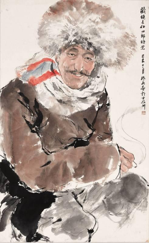 劉振夏,《四郎》,1979。