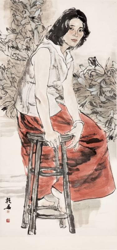 劉振夏,《百合花》,2007。