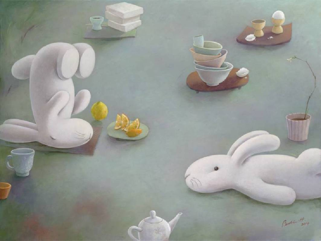 黃本蕊《餐桌上的枯山水》