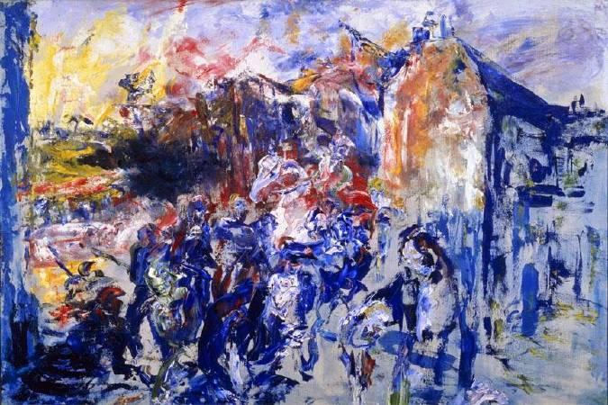 傑克‧葉慈,《Grief 》,1946。圖/取自Ortioricellari