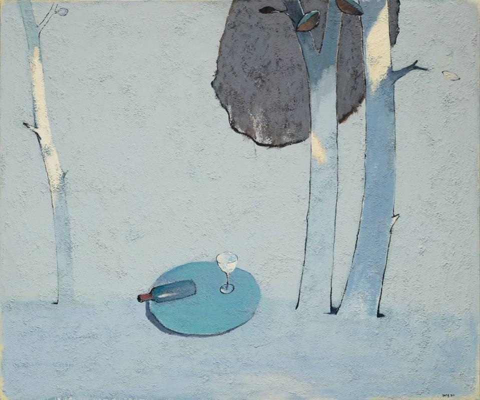 現代畫廊-楊登雄-Le temps時光  -150x180cm 壓克力顏料 畫布 2007-2008