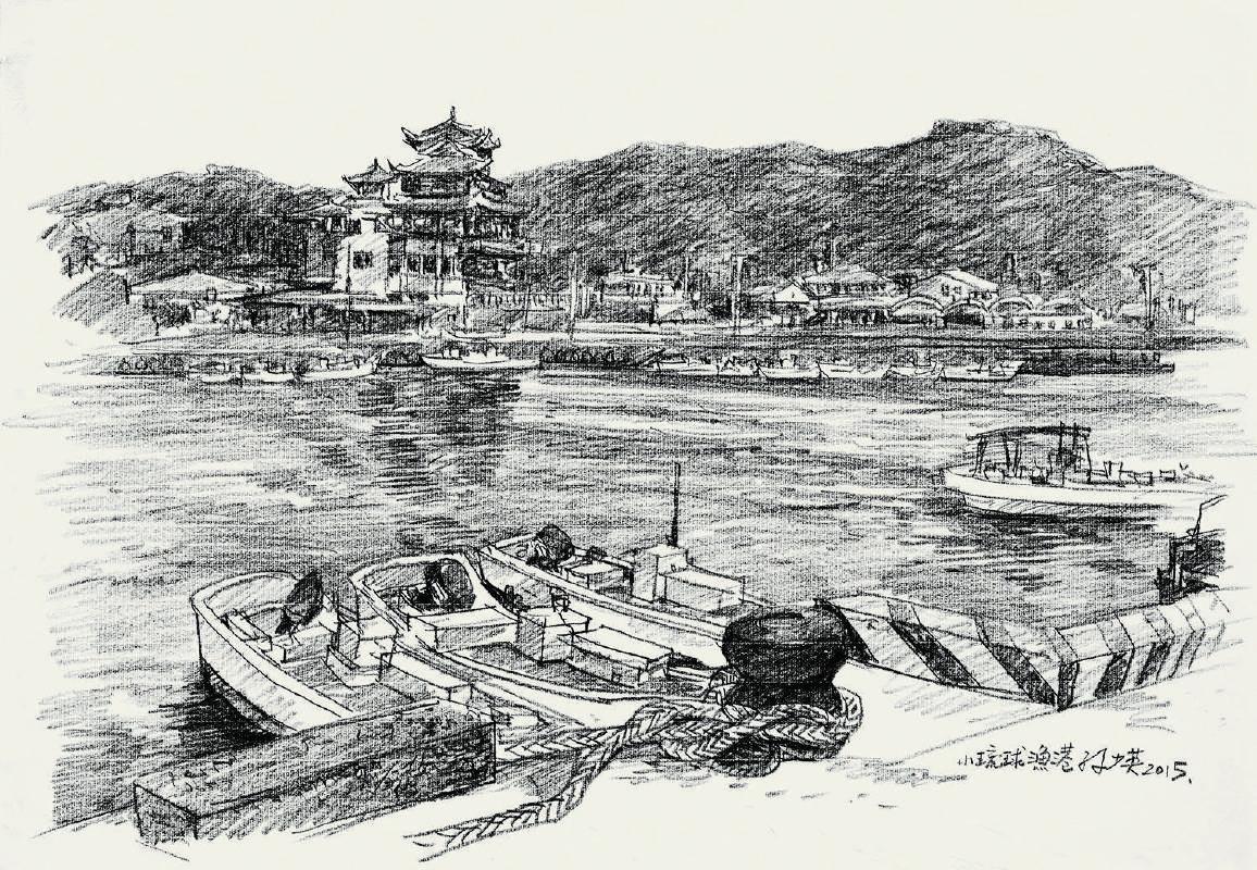 小琉球漁港