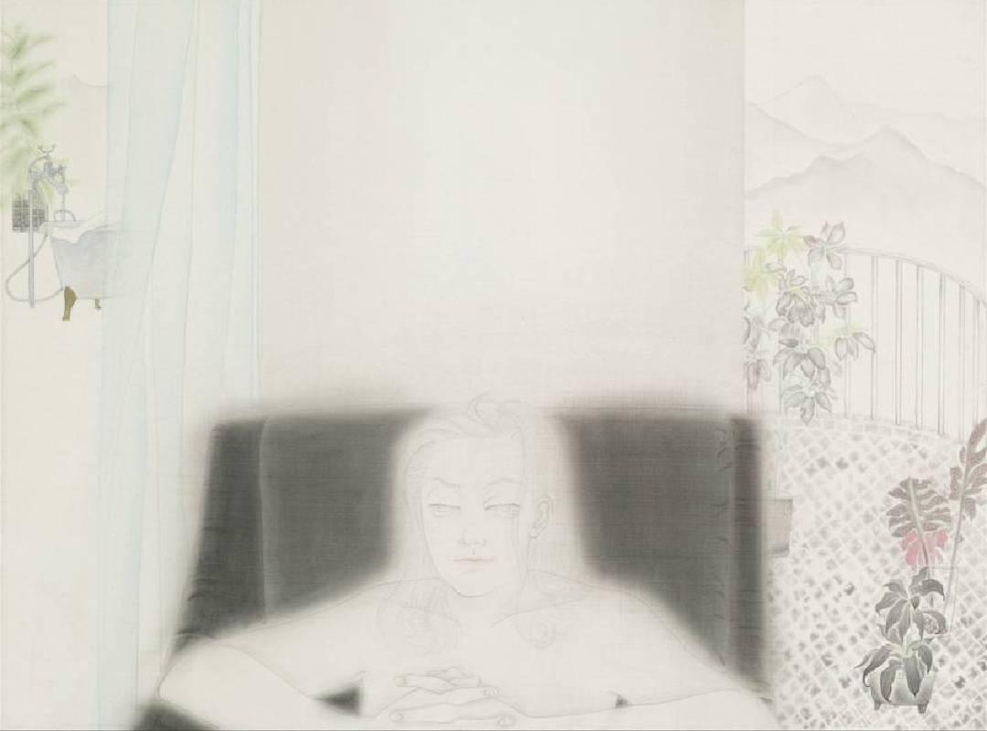 春   Primera 2014 絹本設色 Ink on Silk 77 x 94 cm