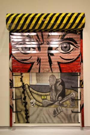 阿圖爾・多地亞《眼睛》。圖/非池中藝術網攝。