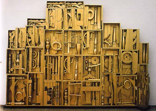 Louise Nevelson,《Royal Tide IV》,1960。