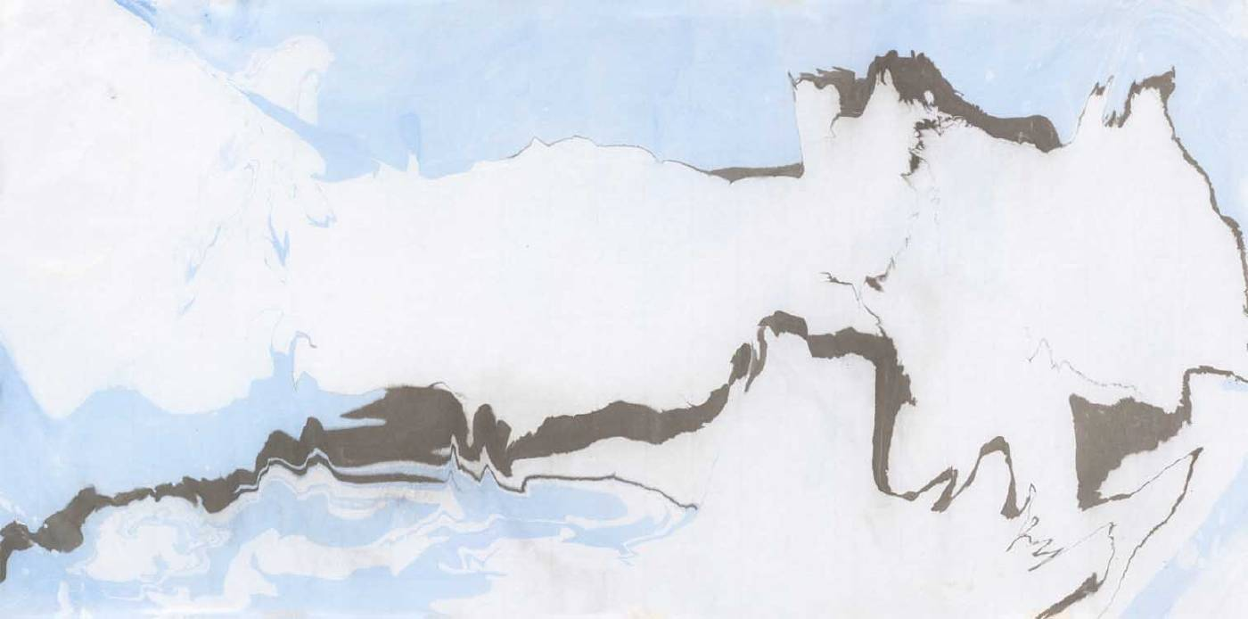黃楷馨Kai-Hsing Huang,201207 wb6,複合媒材mixed media on paper,27x37cm,2012