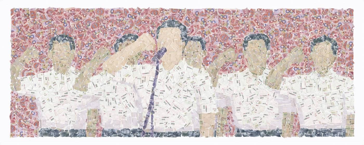 宣誓    80x200cm    藝術微噴. 照片紙    印數12     2011