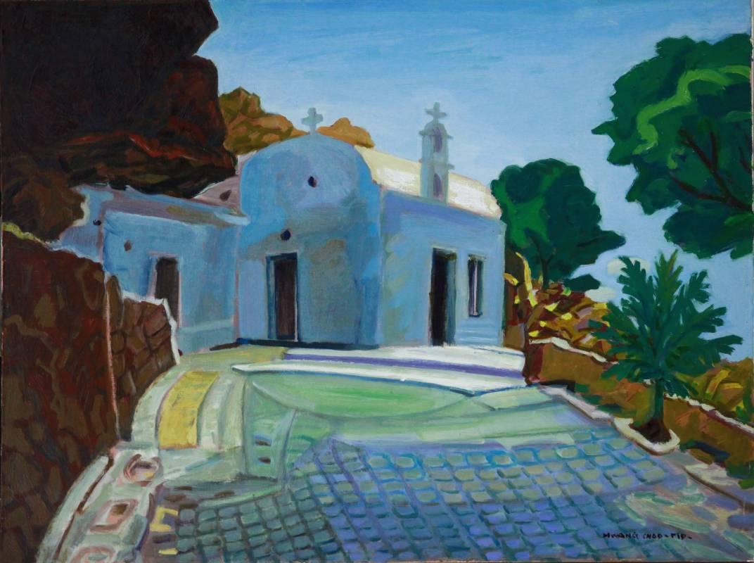 黃朝謨,《希臘:克里特島》,2007。