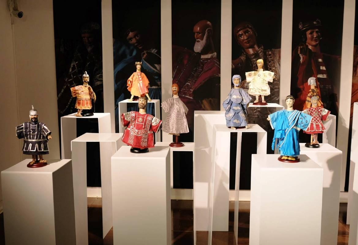 奧狄賽戲偶展示區