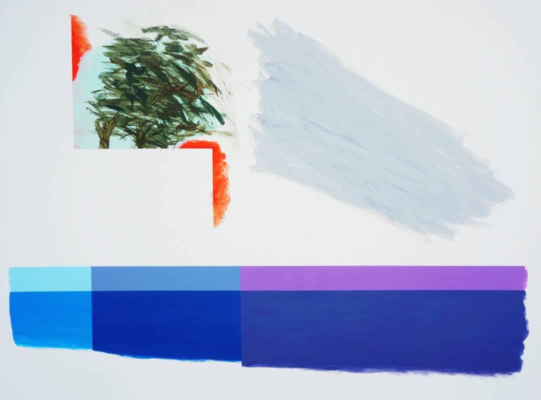 莊東橋 萬物再度呼吸015 130 x 97 cm 壓克力顏料、畫布 2015