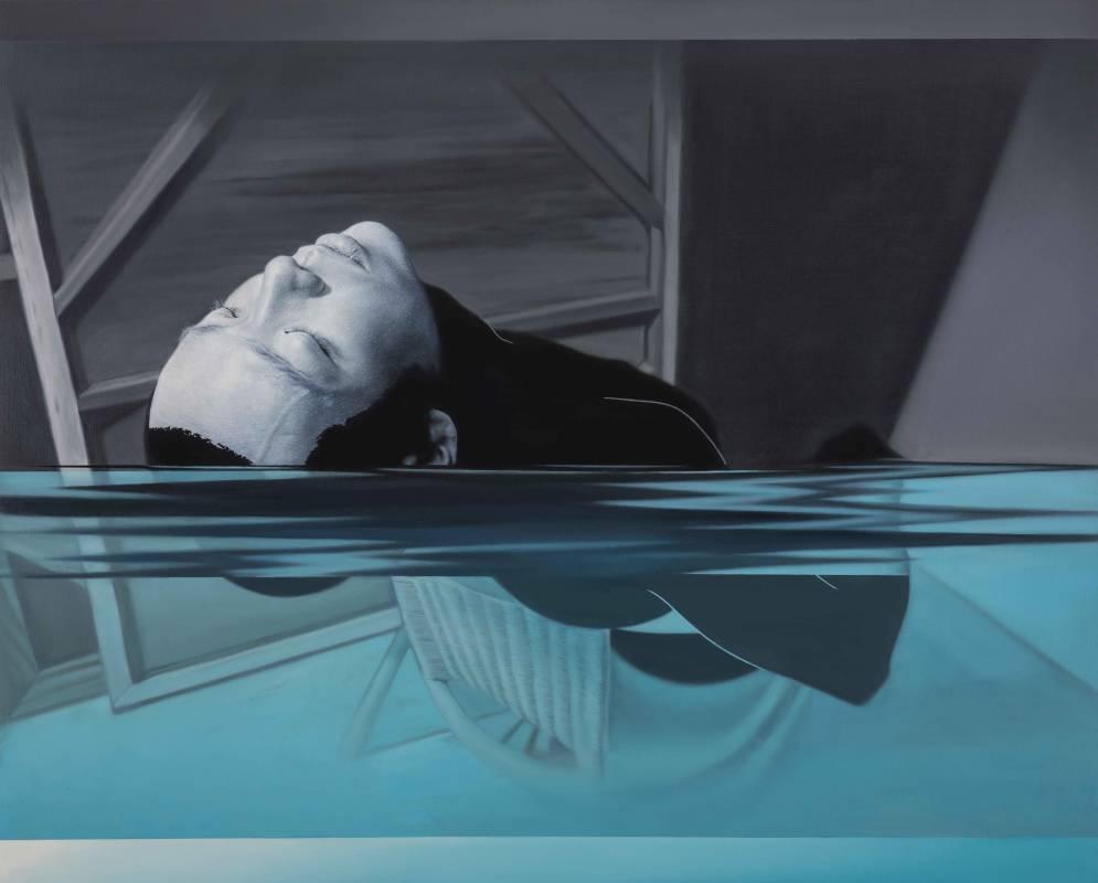 林宏信,《泅泳者1》,2015。