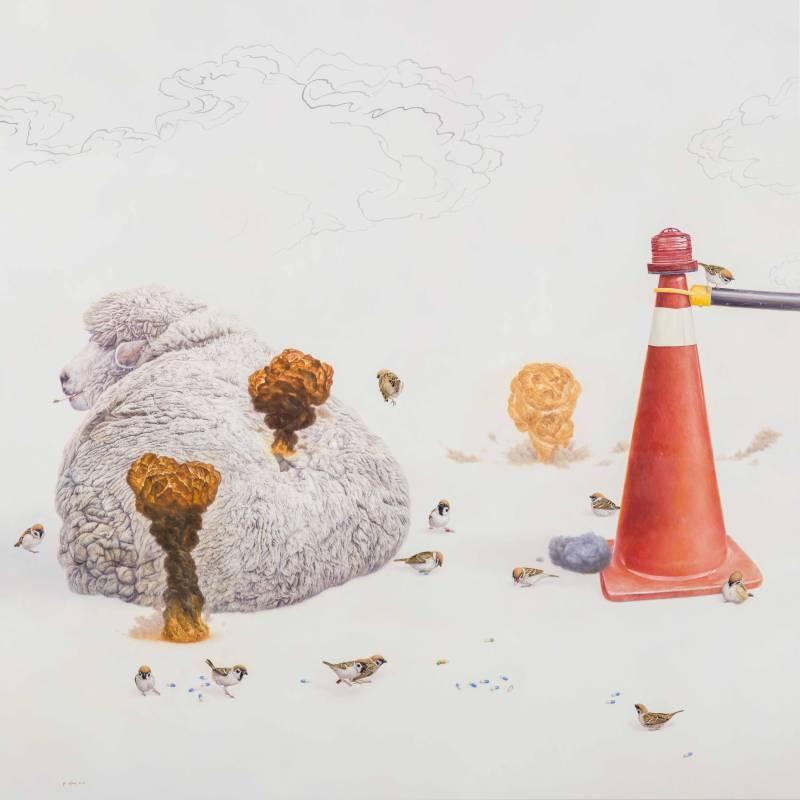黃頤勝,《聖戰的開端》,2015。