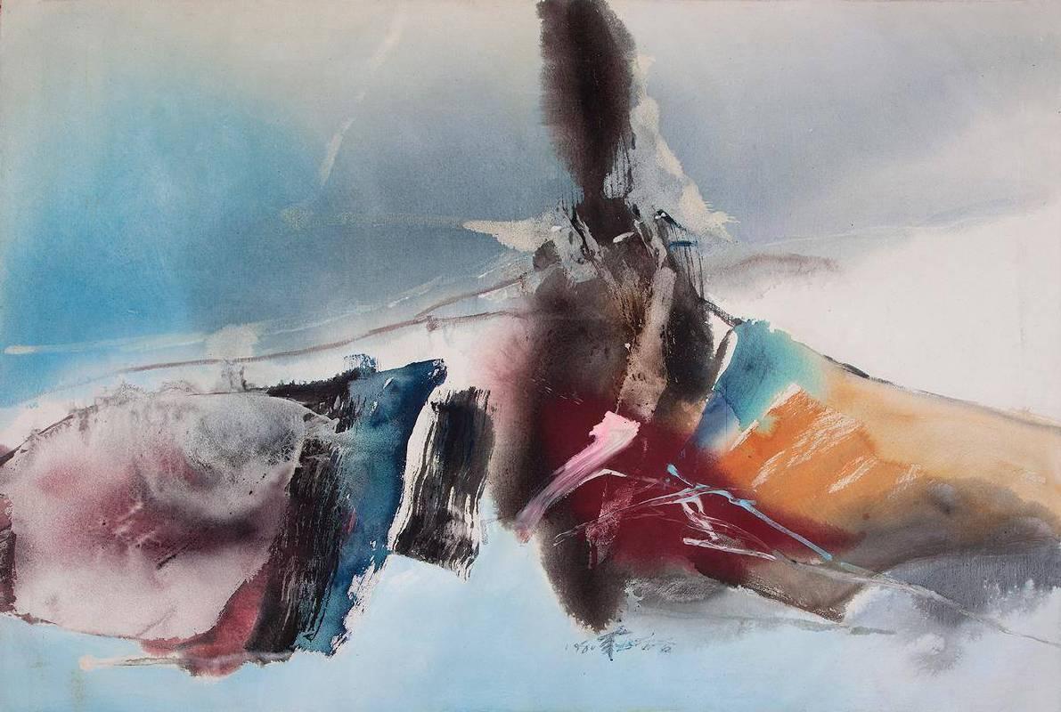 莊喆,1980,126 x 175.5cm