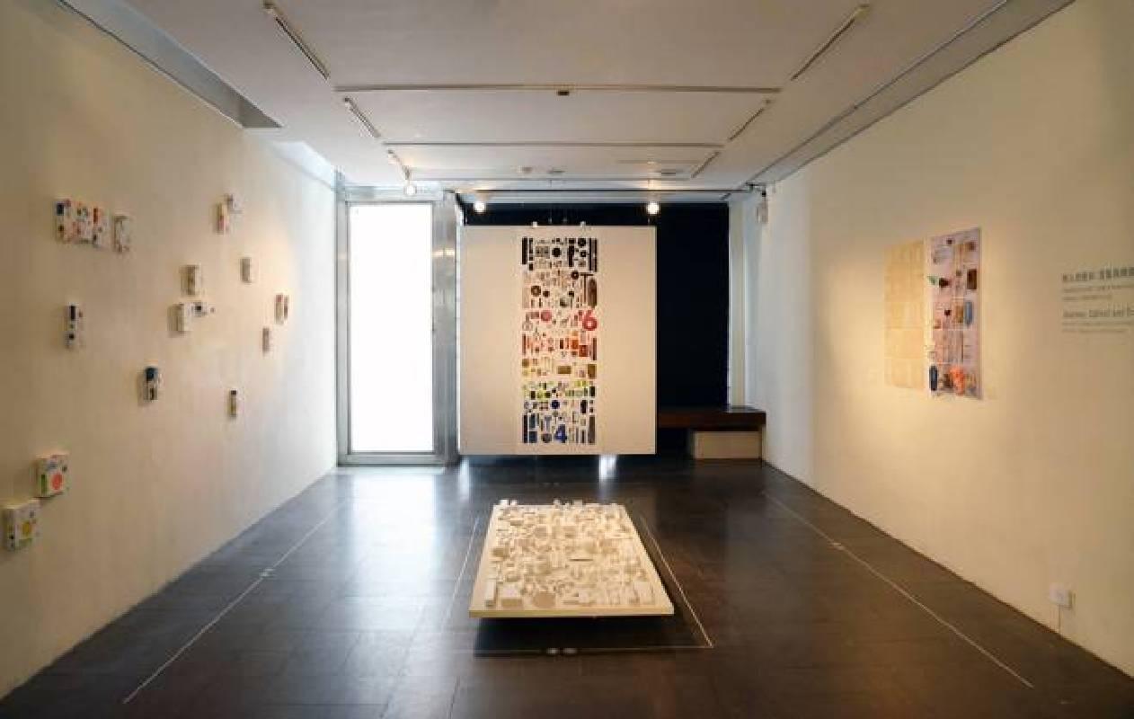 展場空間 「旅人的使命:蒐集與轉換」