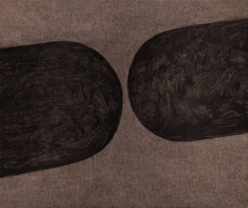 王董碩 管道-01 60.5x72.5cm  油彩、畫布  2015