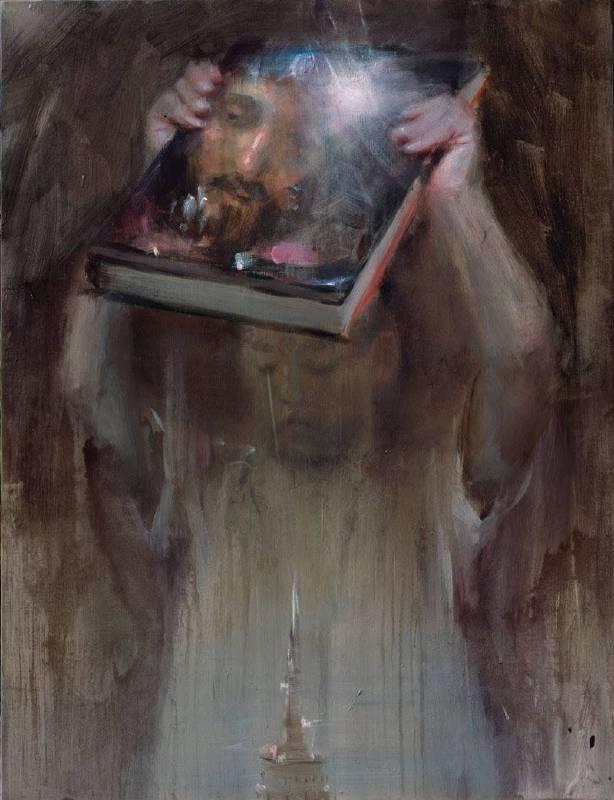 韋嘉,《Idol》, 2013, 130×100cm, 丙烯畫布