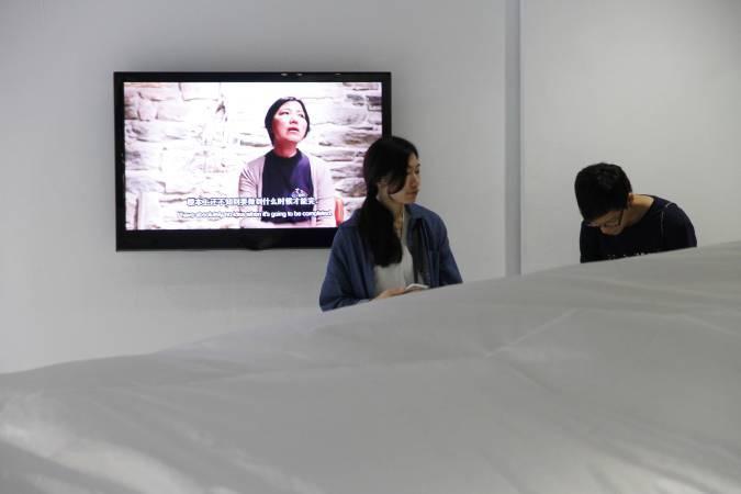 吳紅虹,《裝修》。圖/非池中藝術網攝。