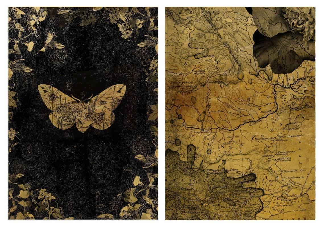 黃至正,《旅跡2》,2015