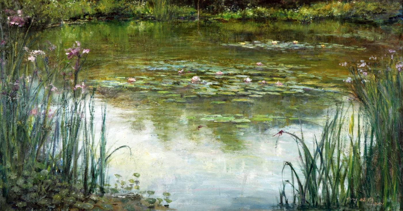 楊炳輝,春天的愛麗絲池塘