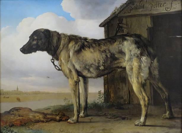 包路斯•波特《Wolf-Hound》。圖/取自Wikipedia。